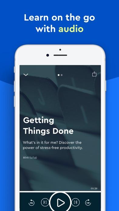 Blinkist review screenshots