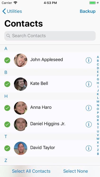 ContactsXL Lite screenshot-3