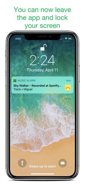 spotify alarm clock iphone free