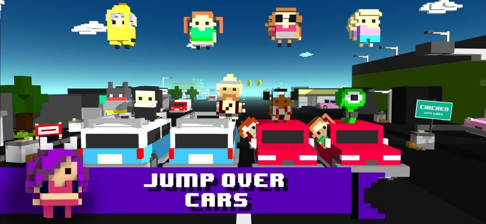 Chicken Jump - Crazy Traffic hack tool