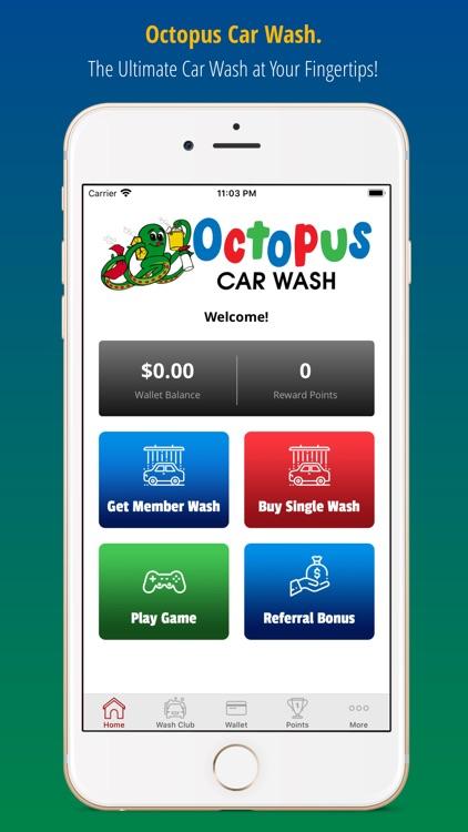 Octopus Car Wash