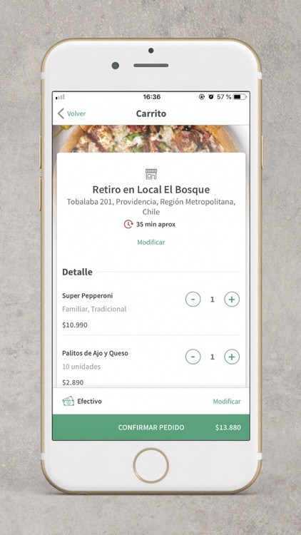 Papa John's Pizza Chile screenshot-5