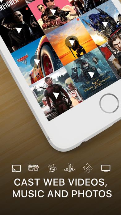 Screenshot for Streamer for Chromecast in Denmark App Store