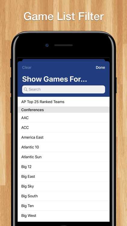 Scores App: College Basketball screenshot-8
