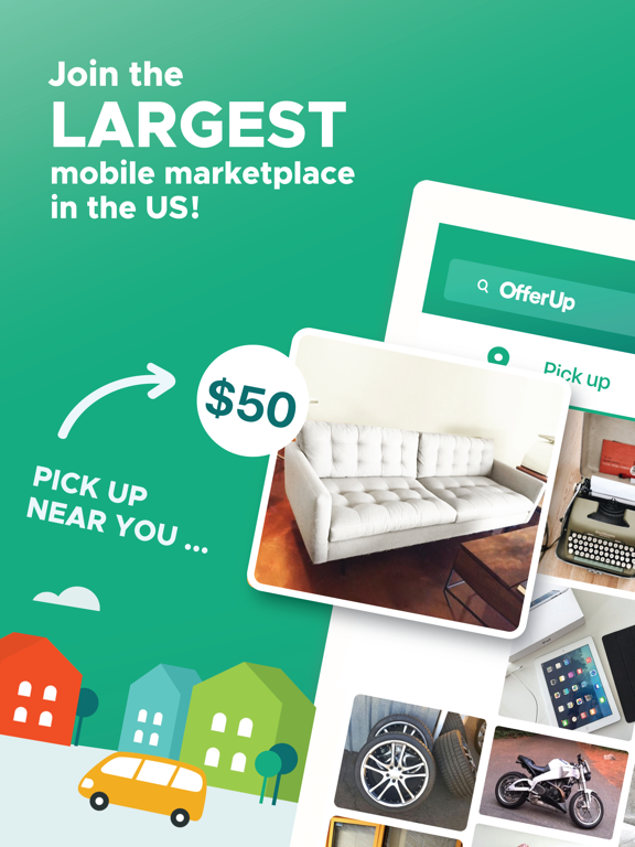 iPad Image of OfferUp - Buy. Sell. Simple.
