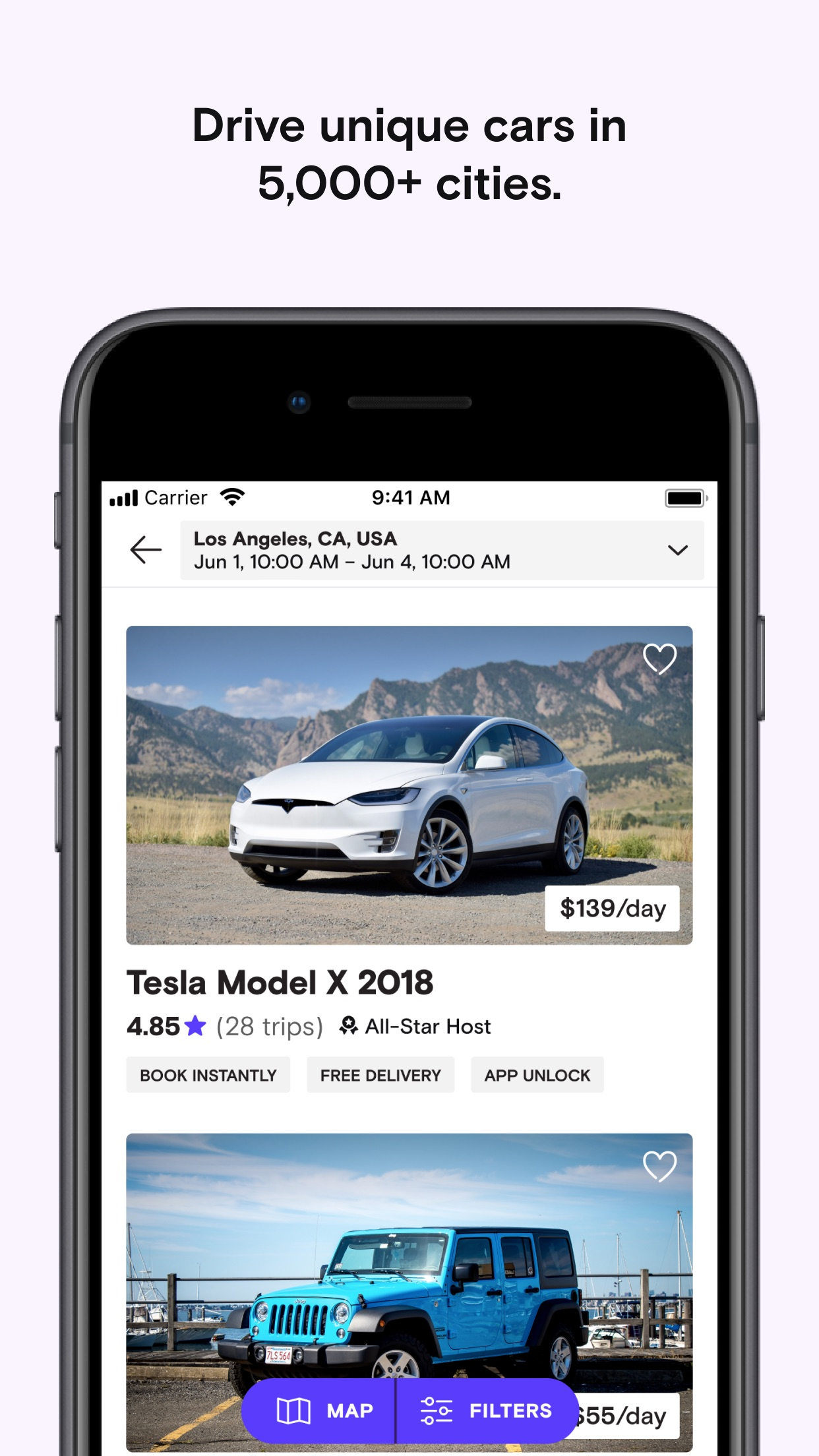 Turo - Better Than Car Rental Screenshot