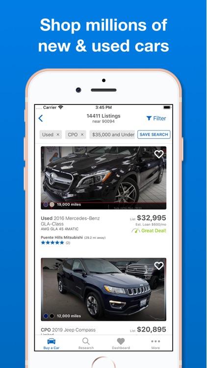 Edmunds - Shop Cars For Sale screenshot-3
