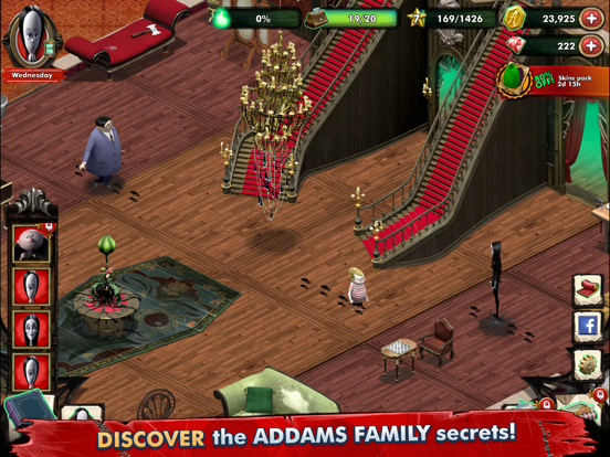 Addams Family Mystery Mansion screenshot 3