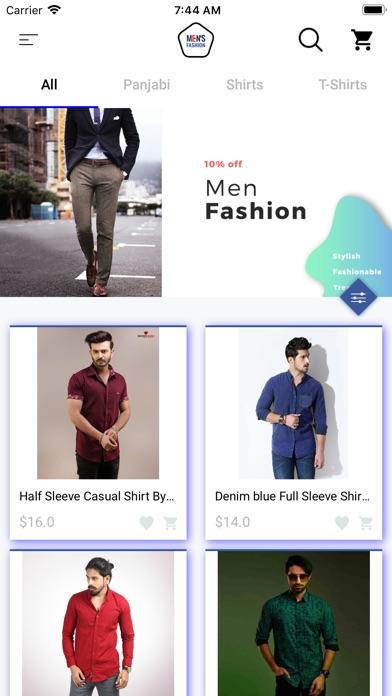 Man Gradients Clothing Shop screenshot #2
