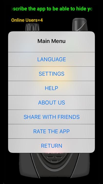 Online Walkie Talkie Pro screenshot-3