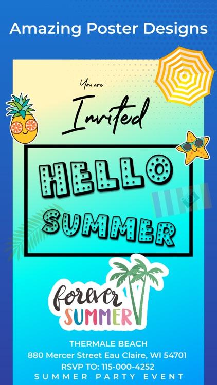 Invitation Maker Card Creator By Content Arcade Uk Ltd
