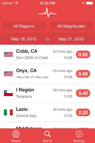 My Earthquake Alerts Pro - náhled