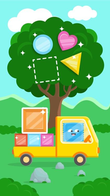 Shapes Candy Toddler Kids Game screenshot-4