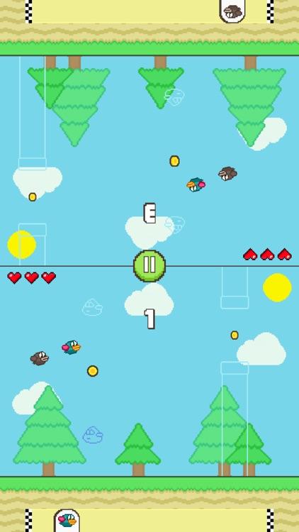 Flappy Family Bird Arcade screenshot-4