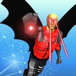 Super Hero Flying Battle