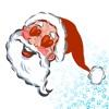 Santa's here sticker pack
