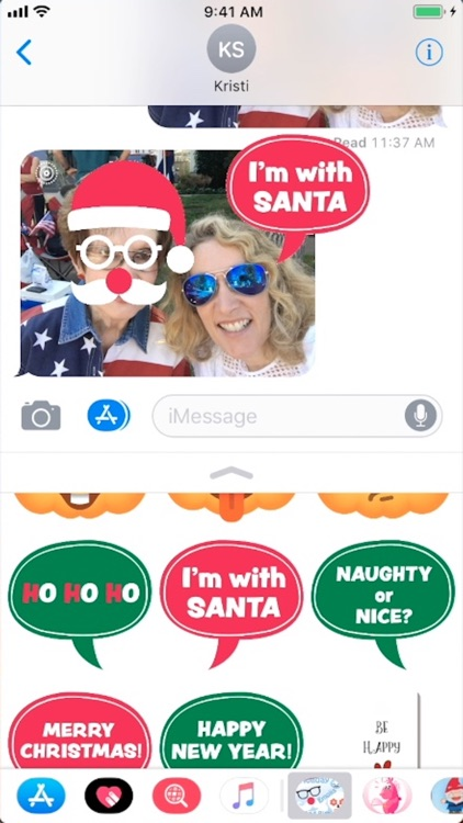 Holiday Emoji Stickers & Bits screenshot-0