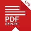 PDF Export Lite: PDF转换器