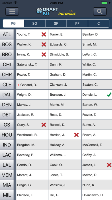 Fantasy Basketball Draft '19 screenshot 3
