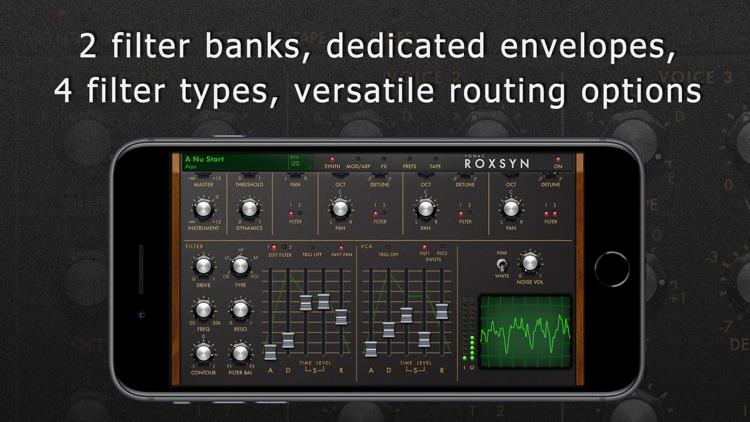 Roxsyn Guitar Synthesizer screenshot-3