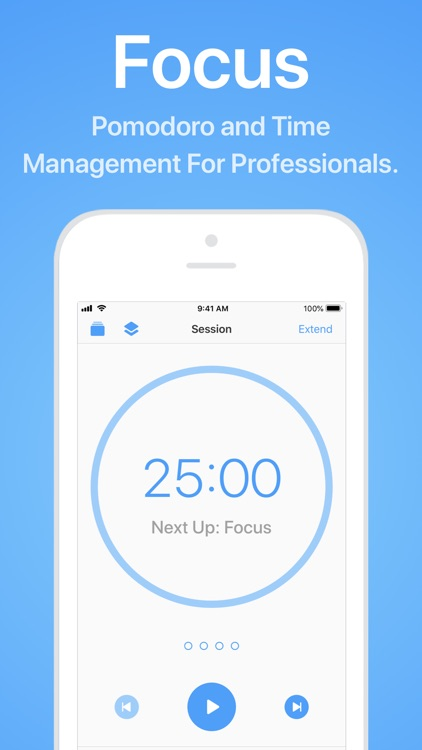 Focus - Time Management