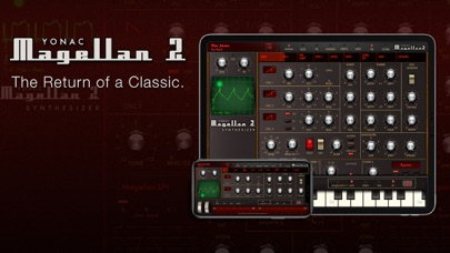 Magellan Synthesizer 2 screenshot 1