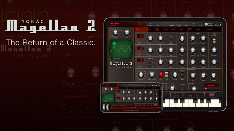 Magellan Synthesizer 2 screenshot-0