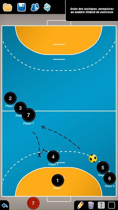 Screenshot #1 pour Planche Tactique: Handball++