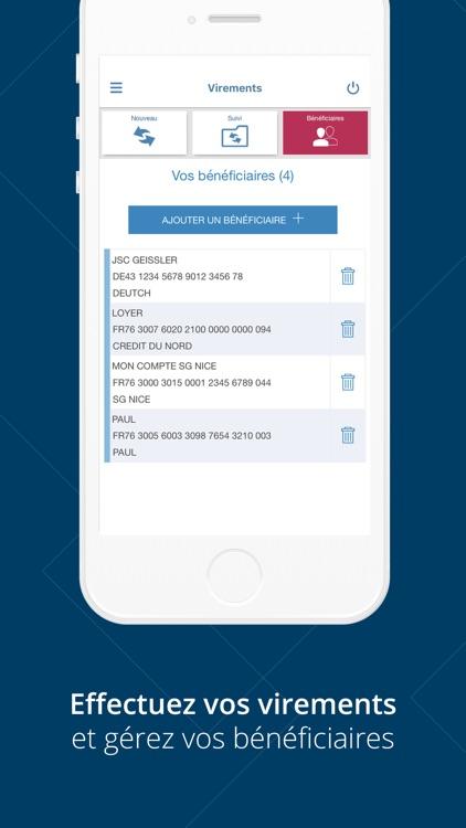 Banque Nuger pour iPhone screenshot-4