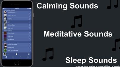 White Noise Deep Sleep Sounds Screenshot