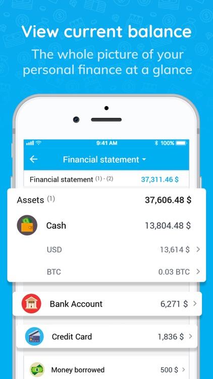 Money Keeper: Finance, Note screenshot-6