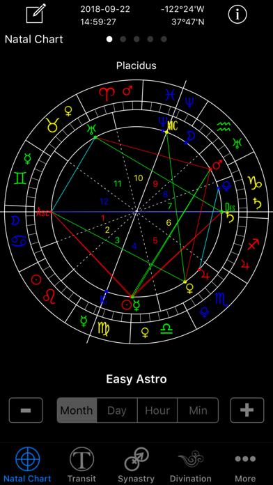 Easy Astro+ Astrology Chartsのおすすめ画像1