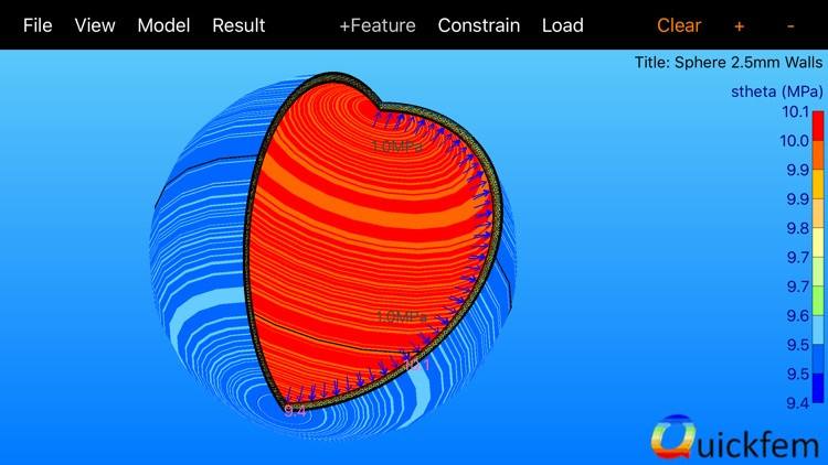 Quickfem - 2D Finite Elements screenshot-0
