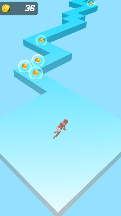 Baby Zigzag Run 3d screenshot-4