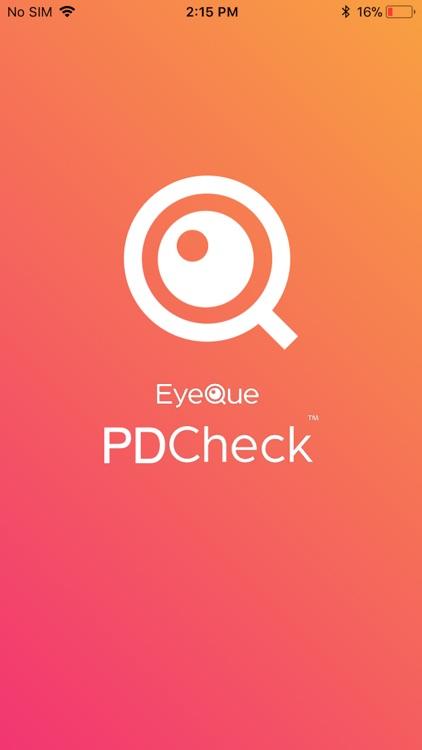 EyeQue PDCheck