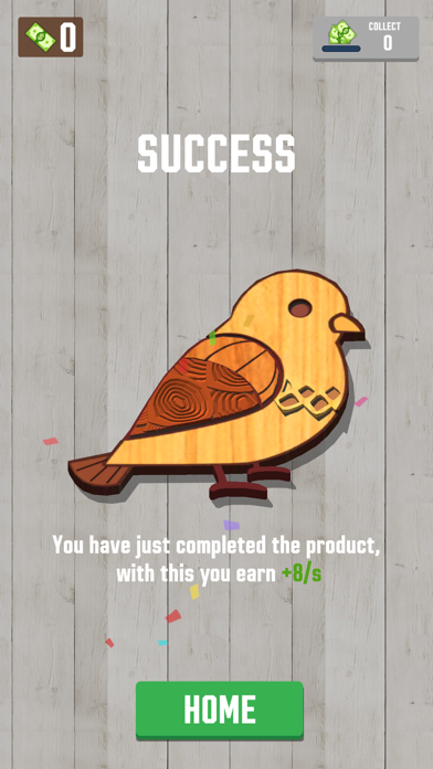 Woodcraft - 3D Carving Game screenshot 4