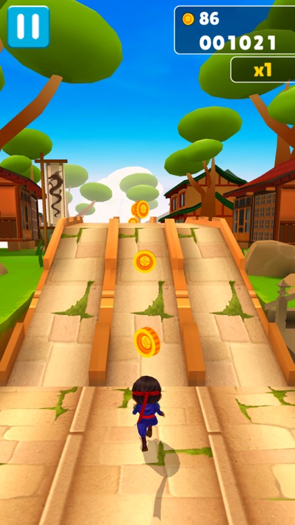 Ninja Kid Run VR: Fun Games screenshot-4