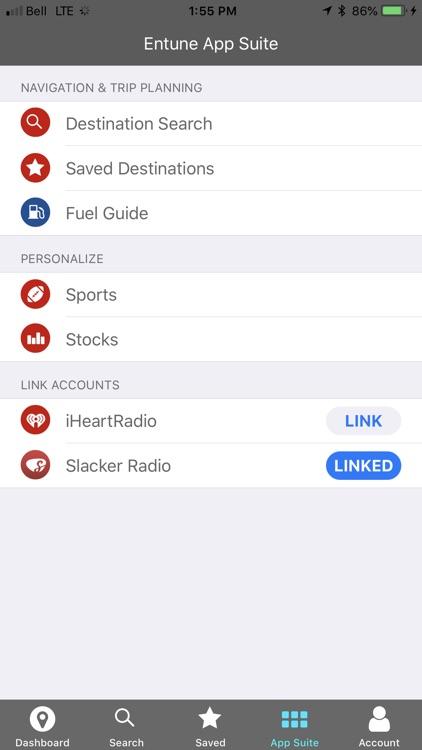 Toyota Entune screenshot-3