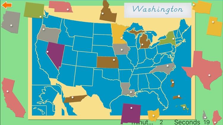United States of America Map screenshot-4