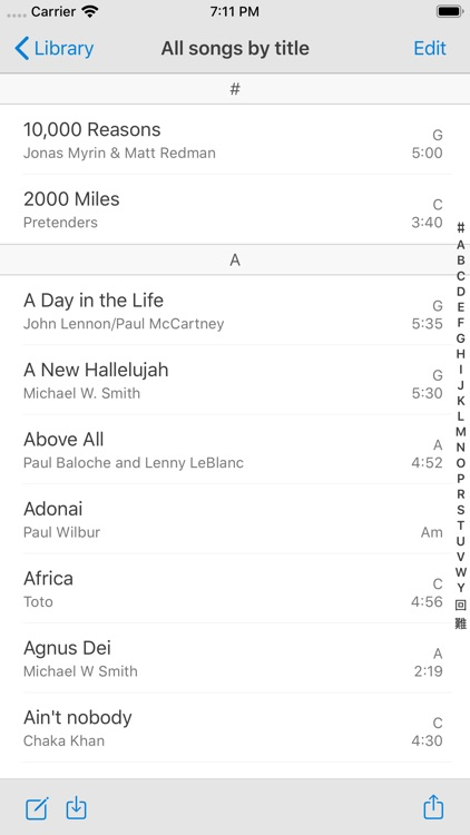 SongSheet Pro: Lyrics & Chords screenshot-1