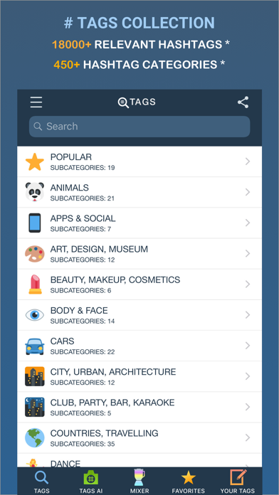Tags App - Tags for Instagram - Apps-Top