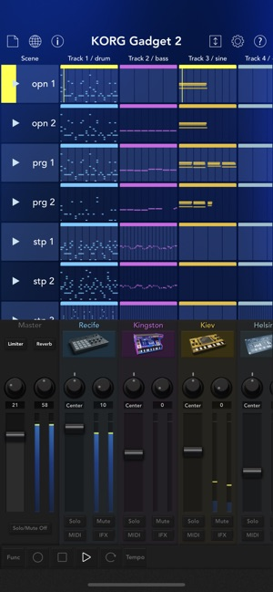 KORG Gadget 2 Screenshot