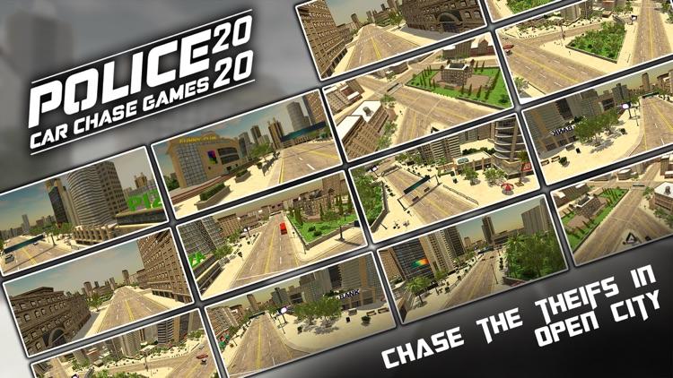 Police Car Chase Games 2020 screenshot-3