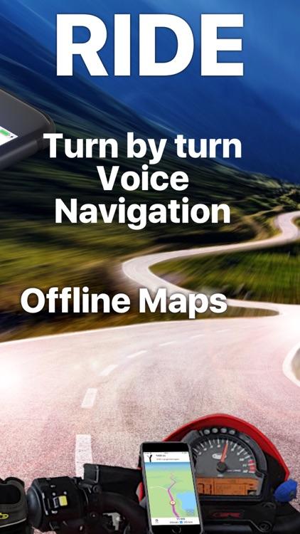 Scenic Motorcycle Navigation