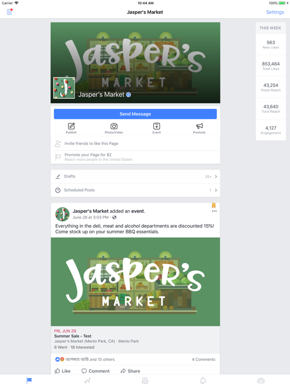 Facebook Pages Manager-ipad-0