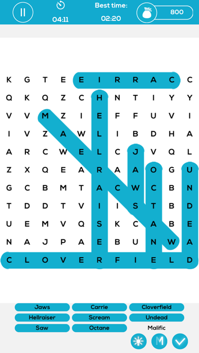 Word Search Puzzle Cross screenshot four