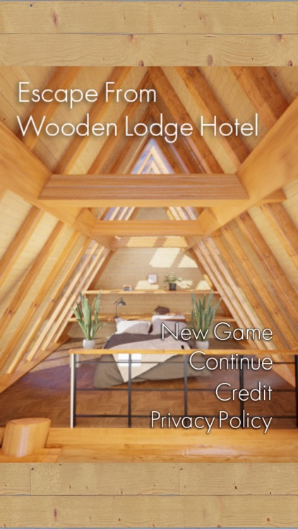 Escape from Wooden Lodge Hotel