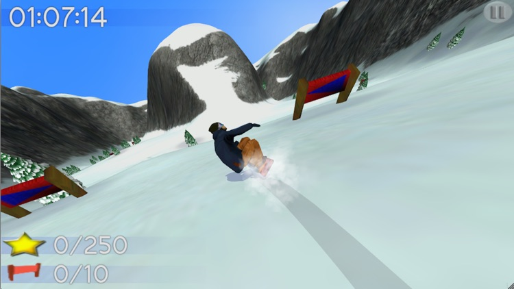 Big Mountain Snowboarding Lite screenshot-2
