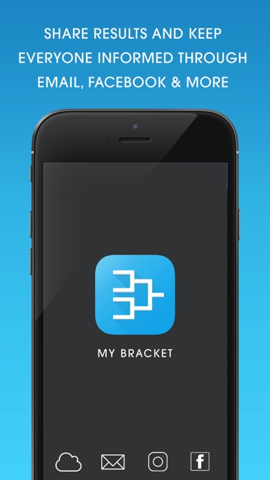 Screenshot for My Bracket: Tournament Manager in United States App Store