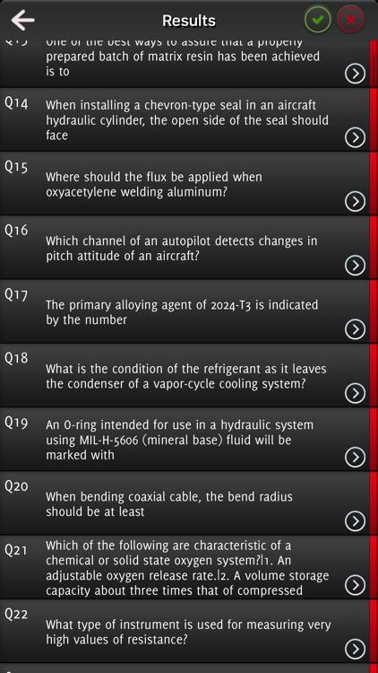 AMT: Aircraft Maintenance Exam screenshot-4